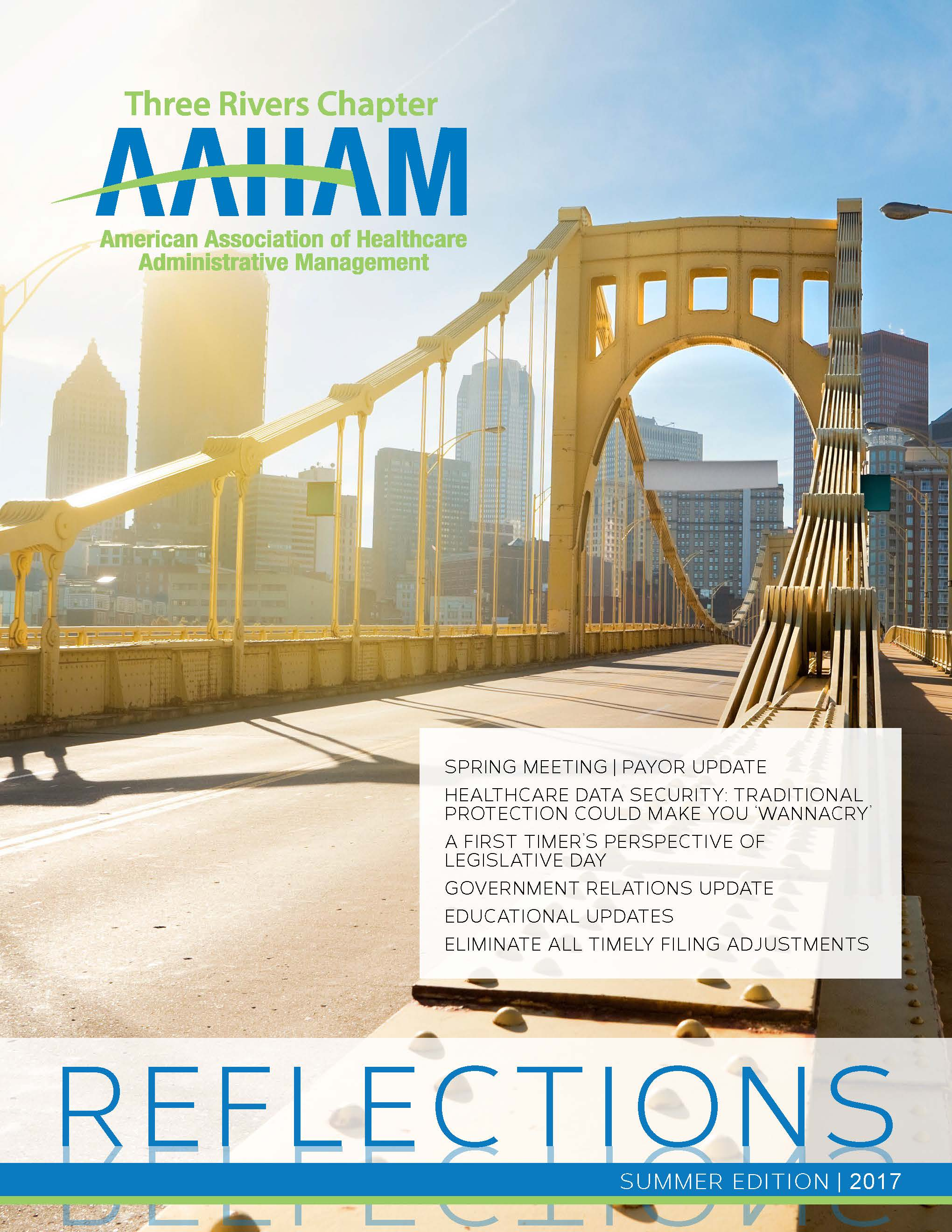 Reflections Newsletter | Summer 2017 - Revenue Cycle News Western Pennsylvania